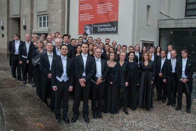 Symphonisches Orchester des Landestheaters Detmold ©