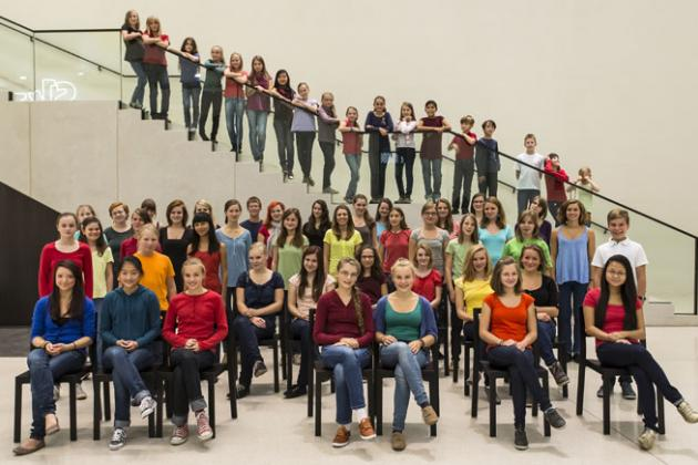 Philharmonischer Kinderchor Dresden © Marko Kubitz
